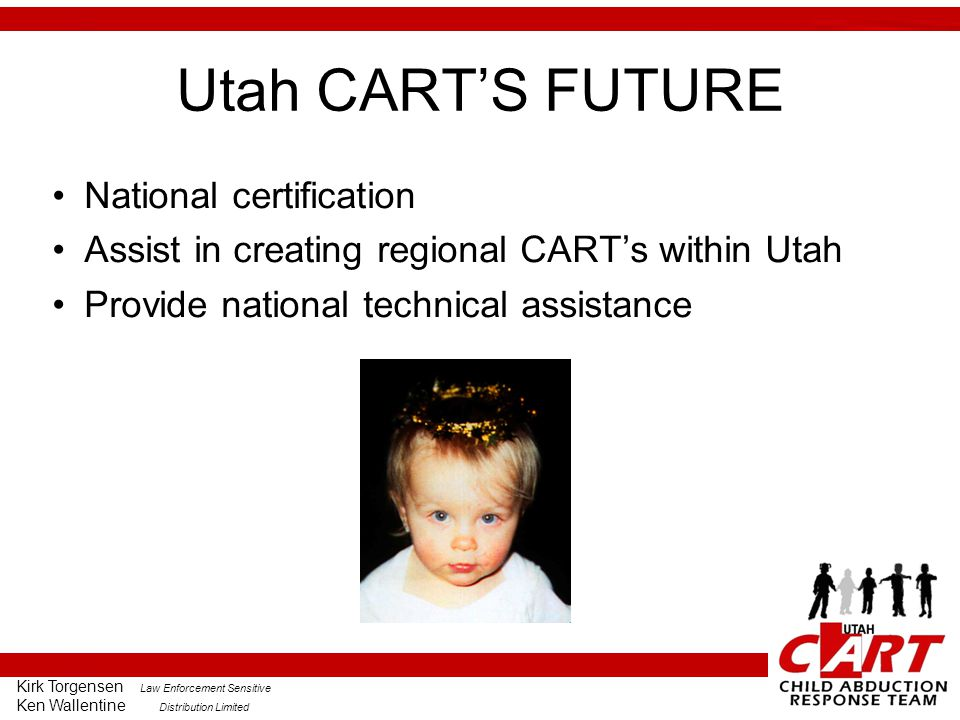 Utah CART'S FUTURE National certification