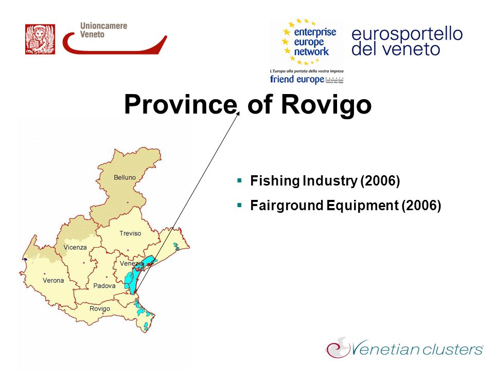 Province of Rovigo Fishing Industry (2006) Fairground Equipment (2006)