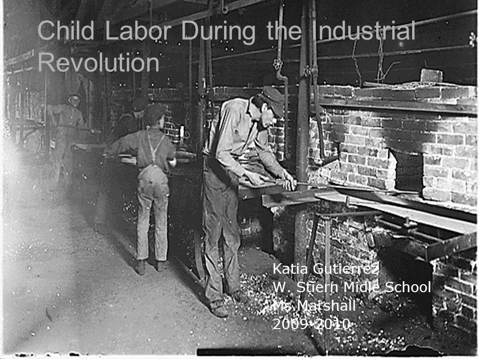 during the industrial revolution 1 locgov/teachers the industrial revolution took place over more than a century, as production of goods moved from home businesses, where products were generally crafted.