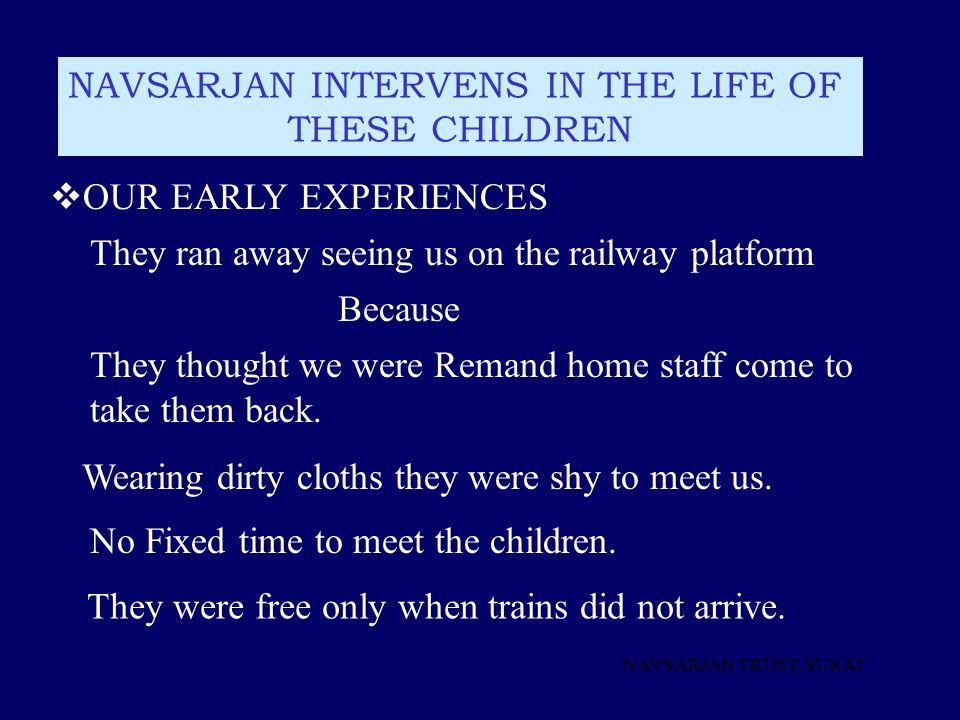 NAVSARJAN INTERVENS IN THE LIFE OF