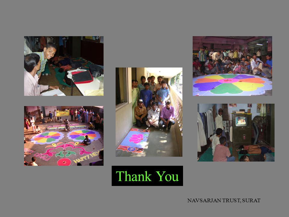 Thank You NAVSARJAN TRUST, SURAT