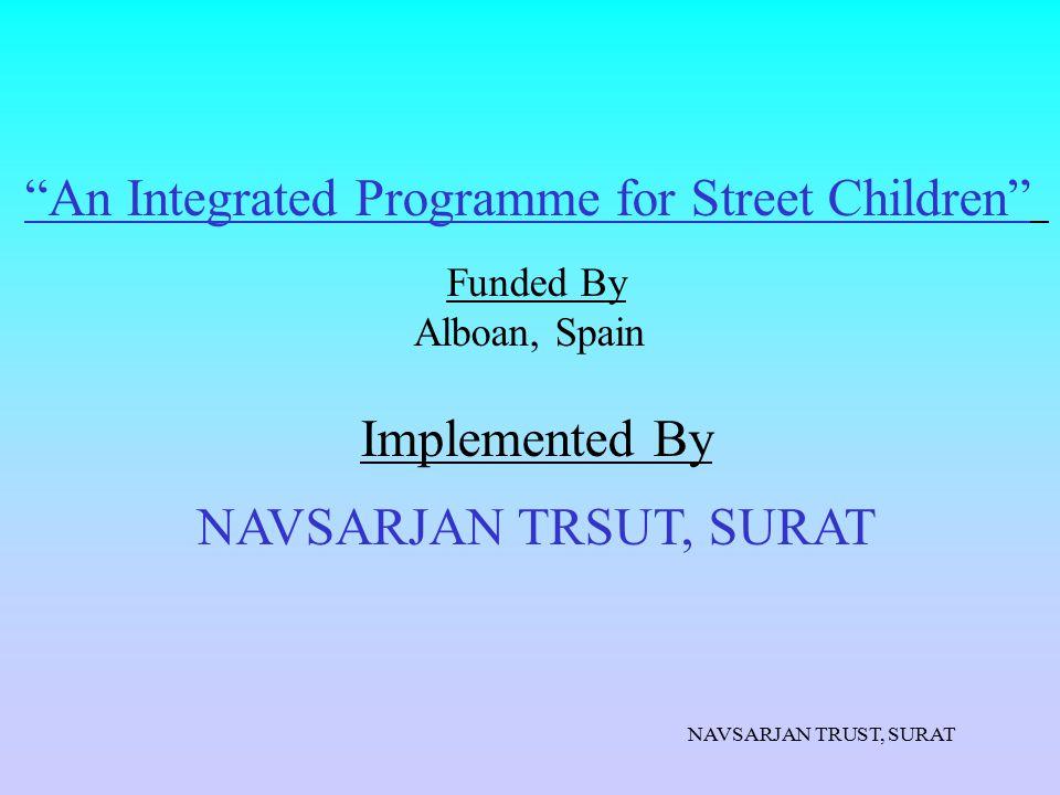 An Integrated Programme for Street Children