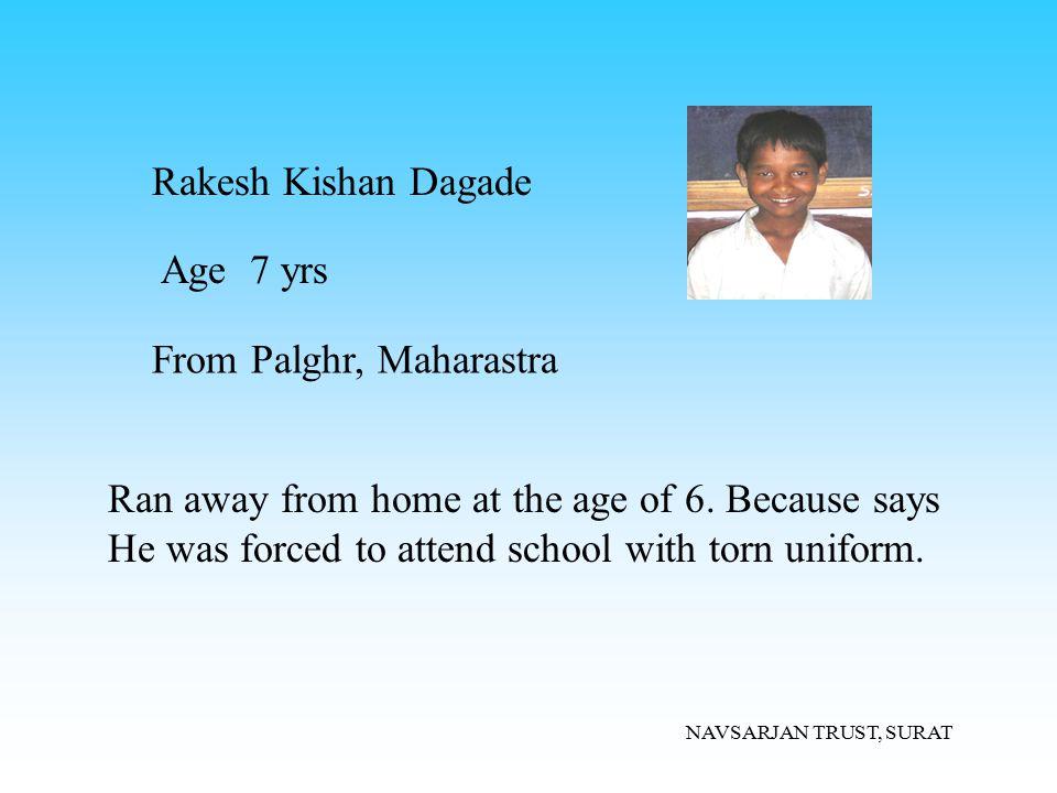 From Palghr, Maharastra