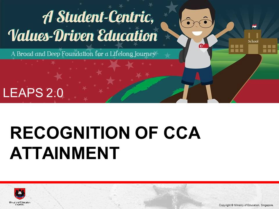 Recognition of cCA attainment