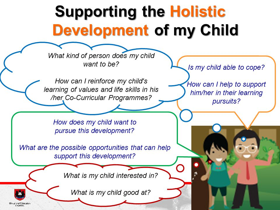 Supporting the Holistic Development of my Child