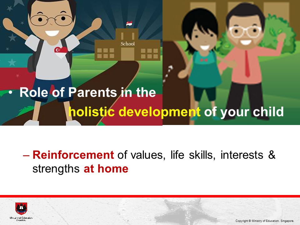 holistic development of your child