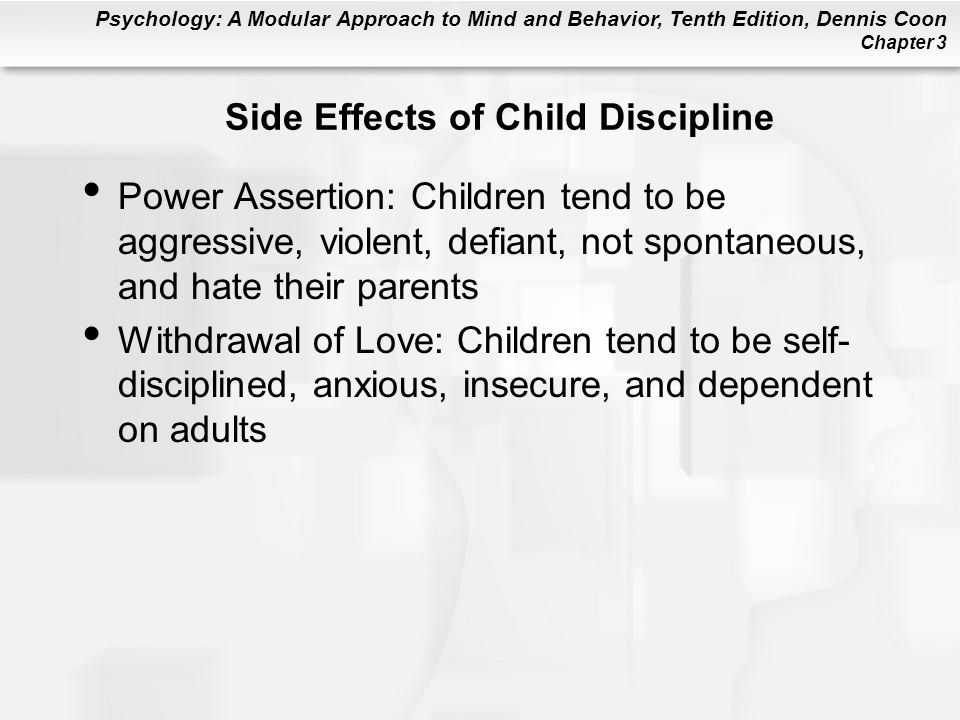 Side Effects of Child Discipline