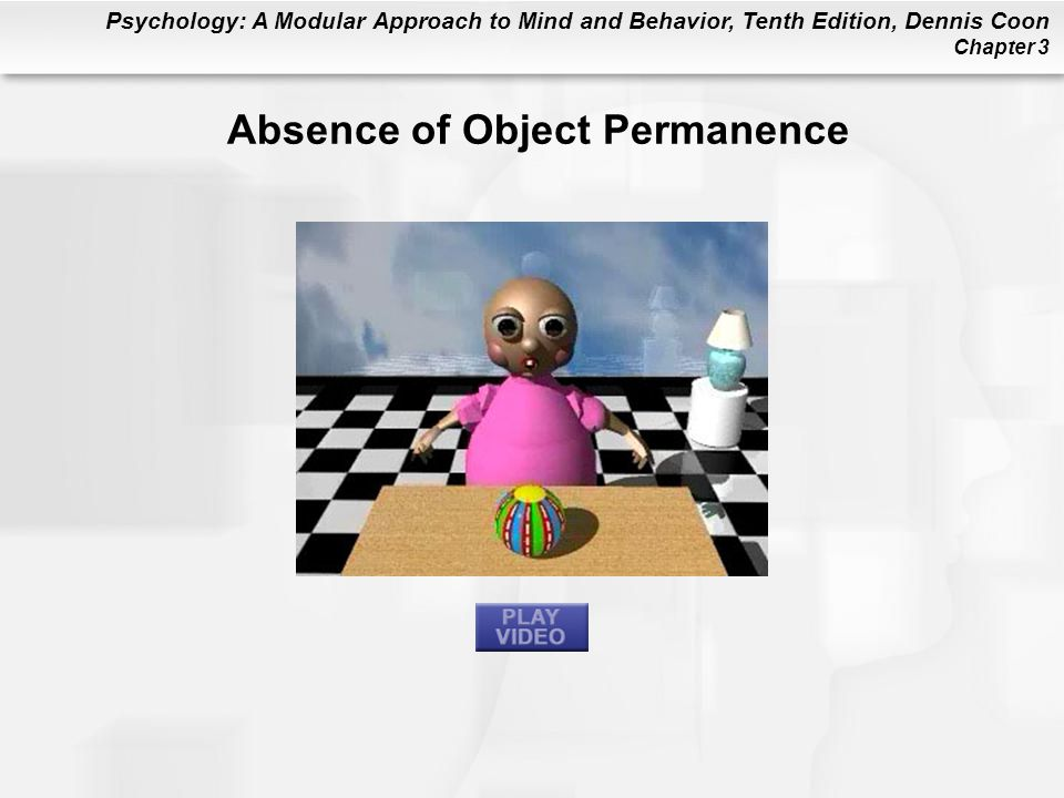 Absence of Object Permanence