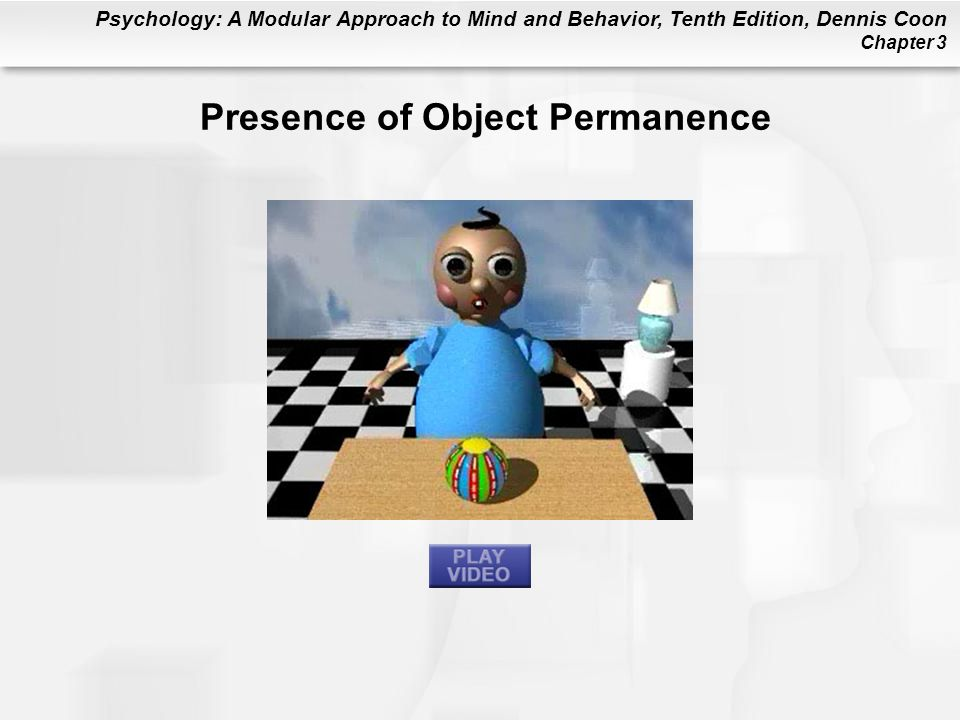 Presence of Object Permanence