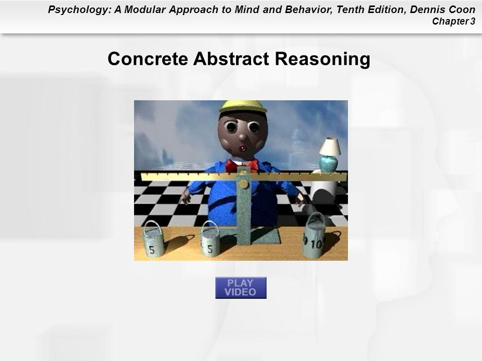 Concrete Abstract Reasoning