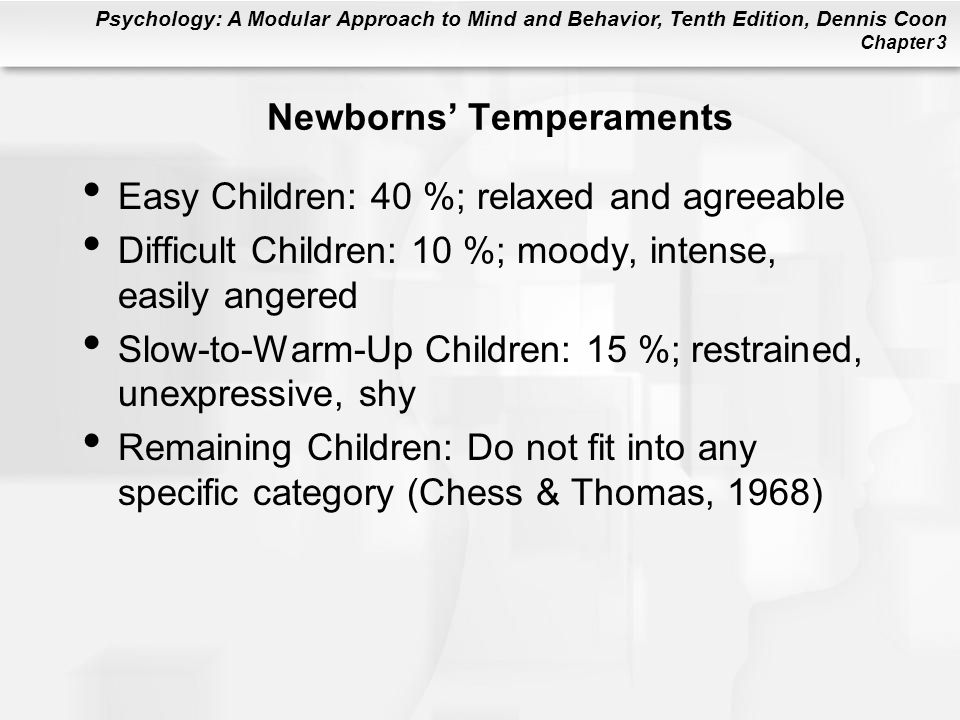 Newborns' Temperaments