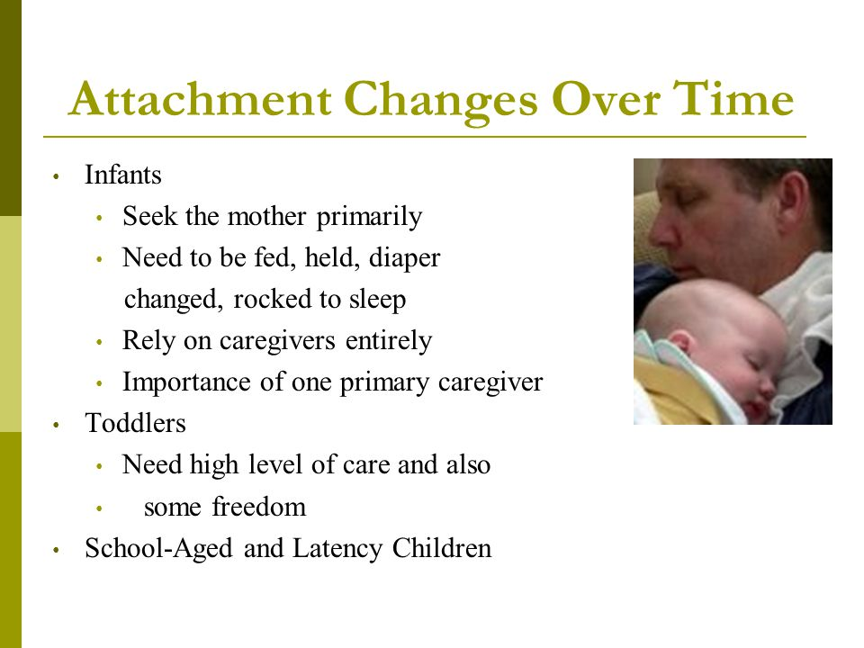 Attachment Changes Over Time