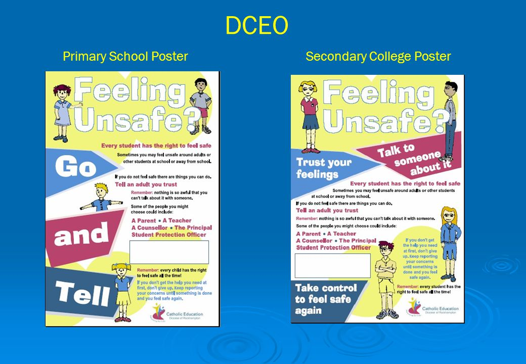 DCEO Primary School Poster Secondary College Poster
