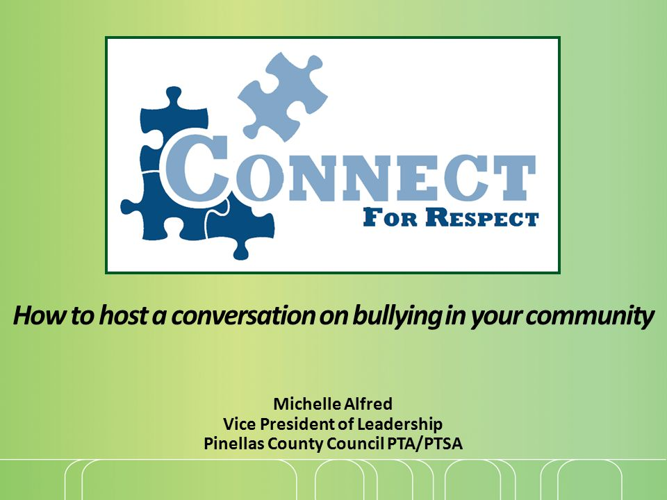 How to host a conversation on bullying in your community