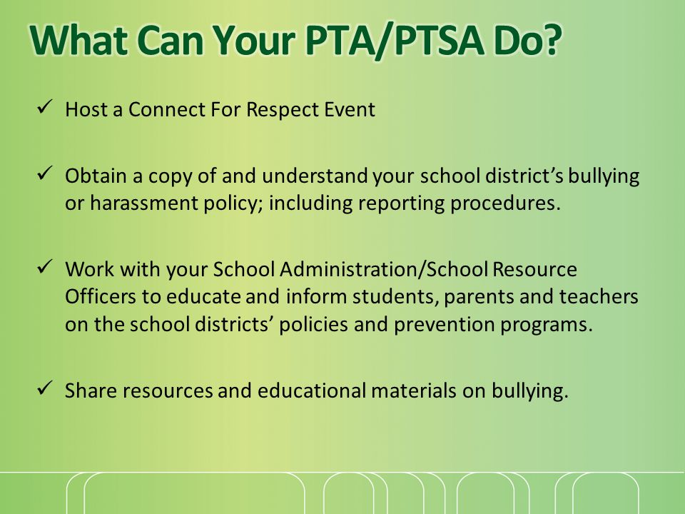 What Can Your PTA/PTSA Do