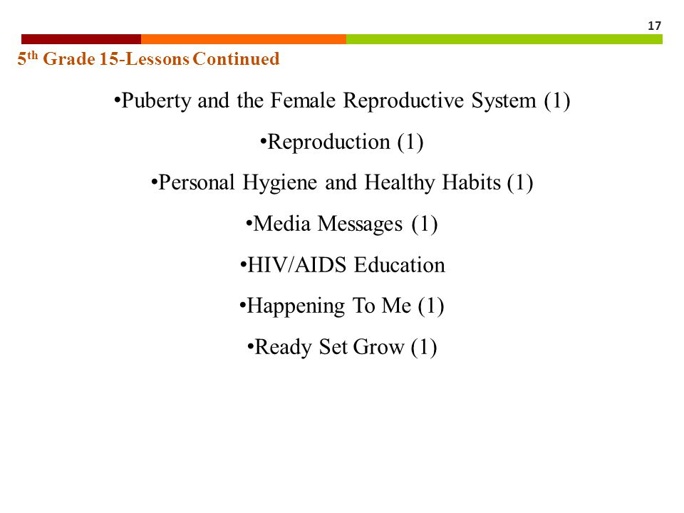 Puberty and the Female Reproductive System (1) Reproduction (1)