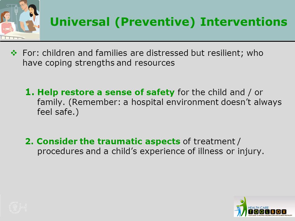 Universal (Preventive) Interventions