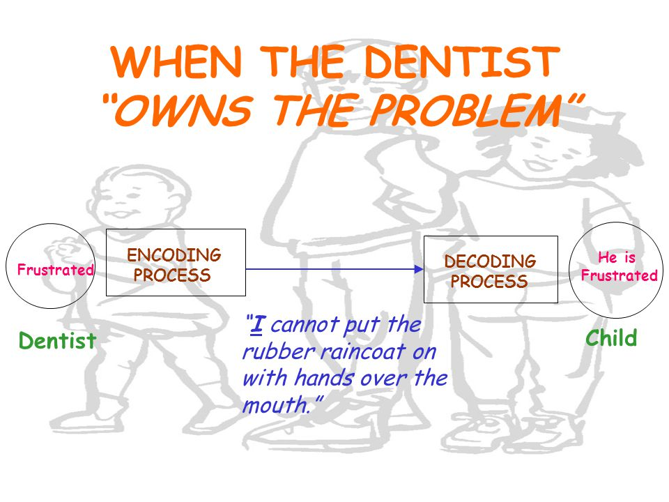 WHEN THE DENTIST OWNS THE PROBLEM