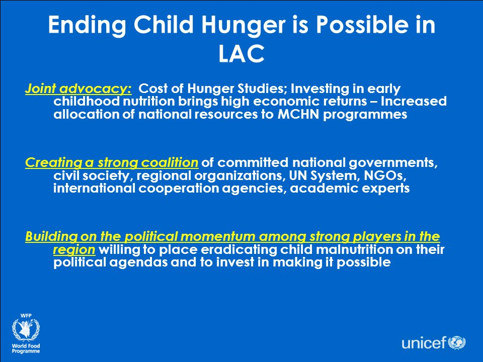Ending Child Hunger is Possible in LAC