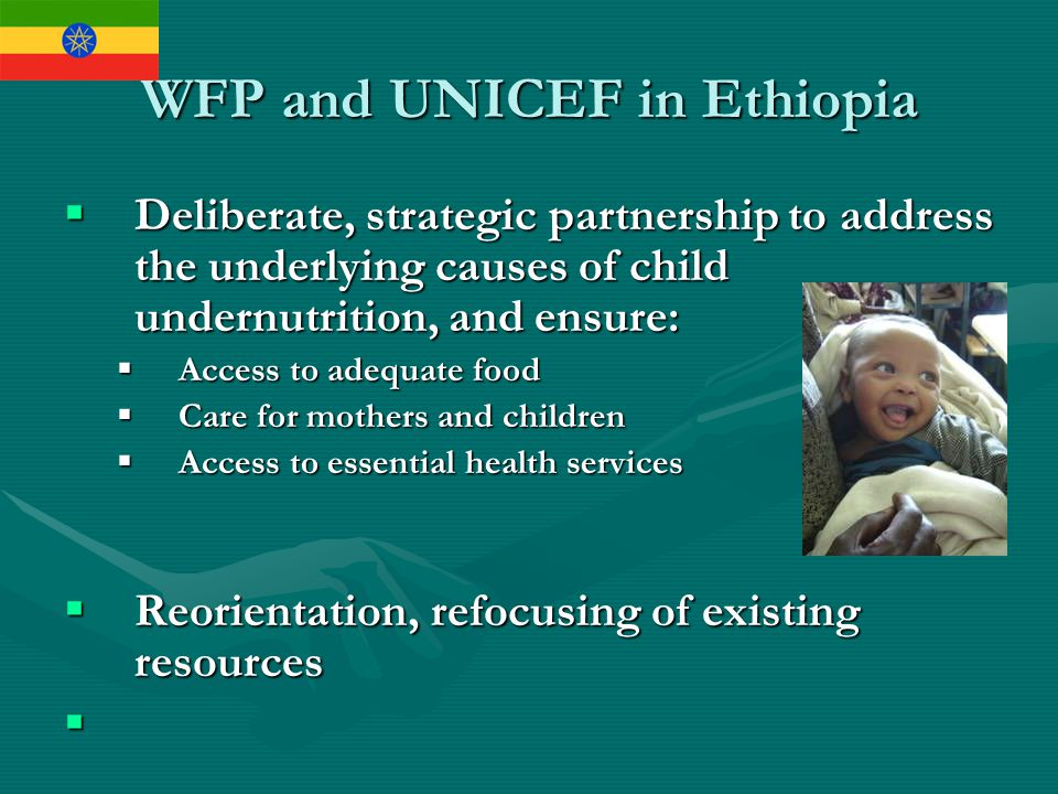 WFP and UNICEF in Ethiopia