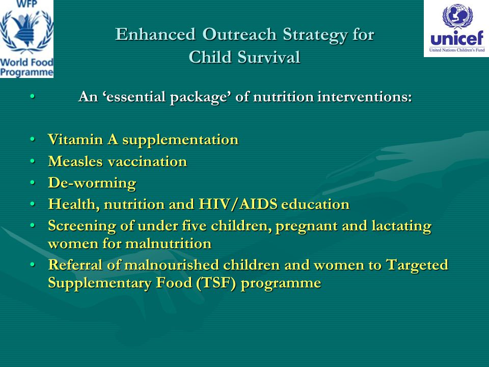 Enhanced Outreach Strategy for Child Survival