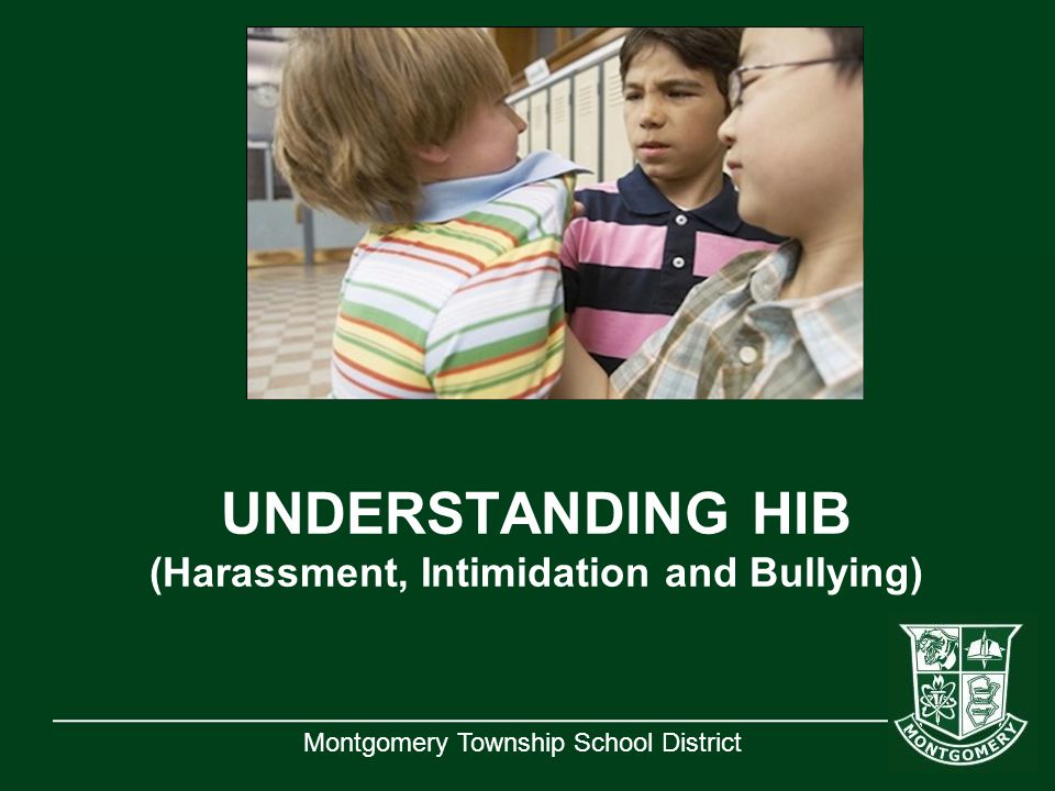 UNDERSTANDING HIB (Harassment, Intimidation and Bullying)