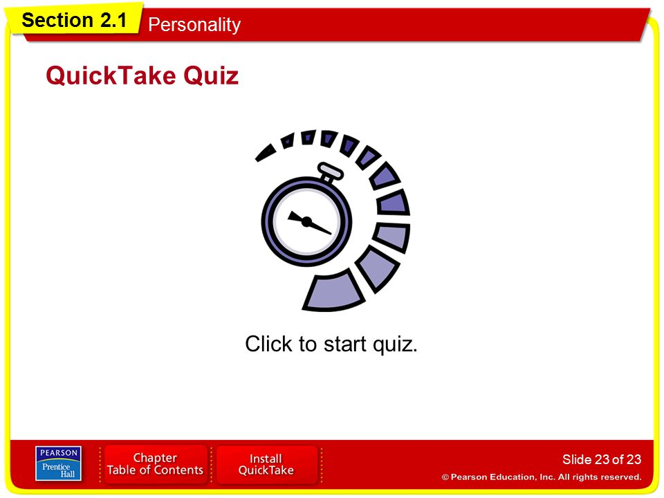 QuickTake Quiz Click to start quiz.