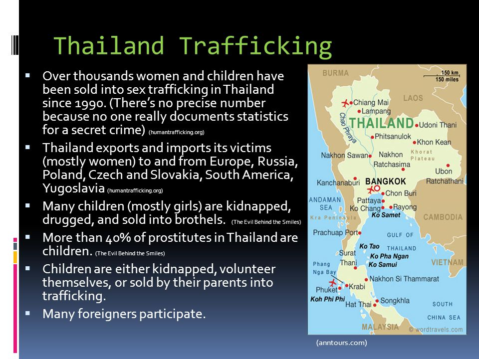 Thailand Trafficking