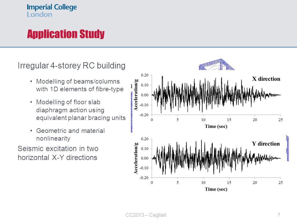 Application Study Irregular 4-storey RC building