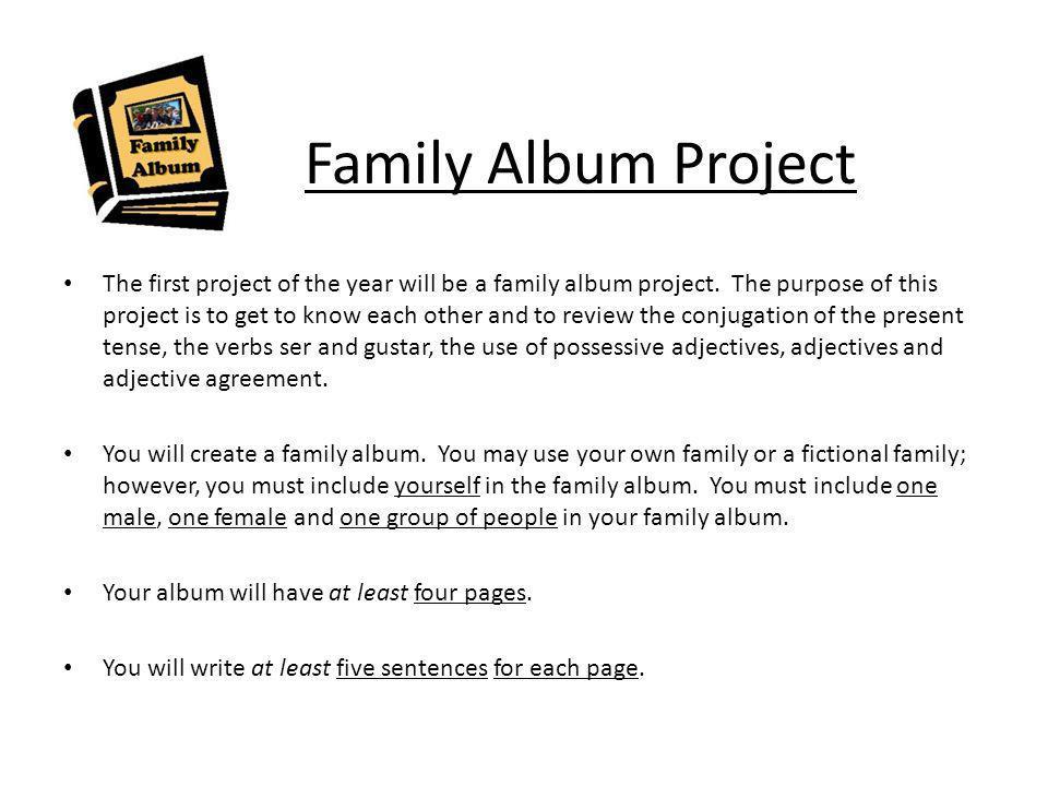 Family Album Project