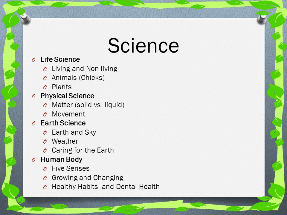 Science Life Science Living and Non-living Animals (Chicks) Plants