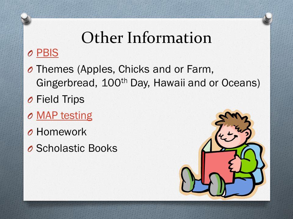 Other Information PBIS
