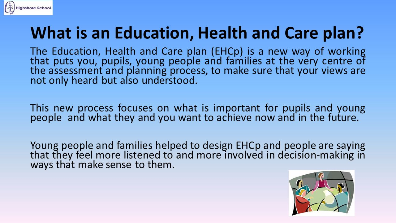 What is an Education, Health and Care plan