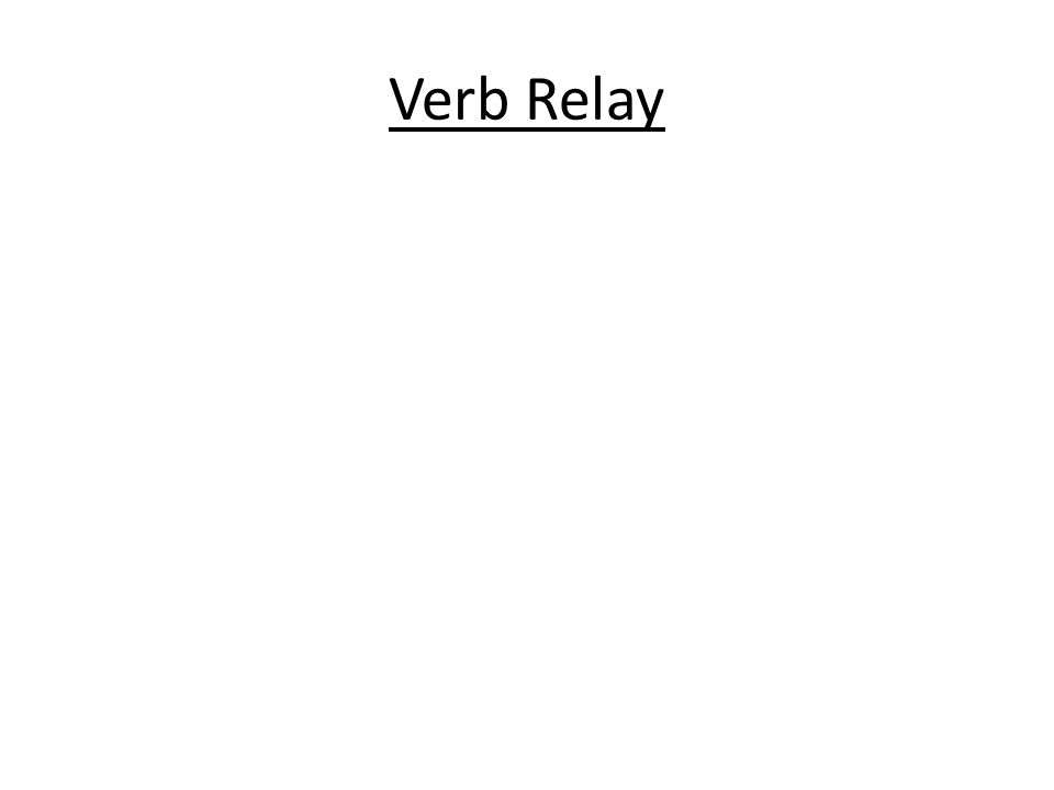 Verb Relay