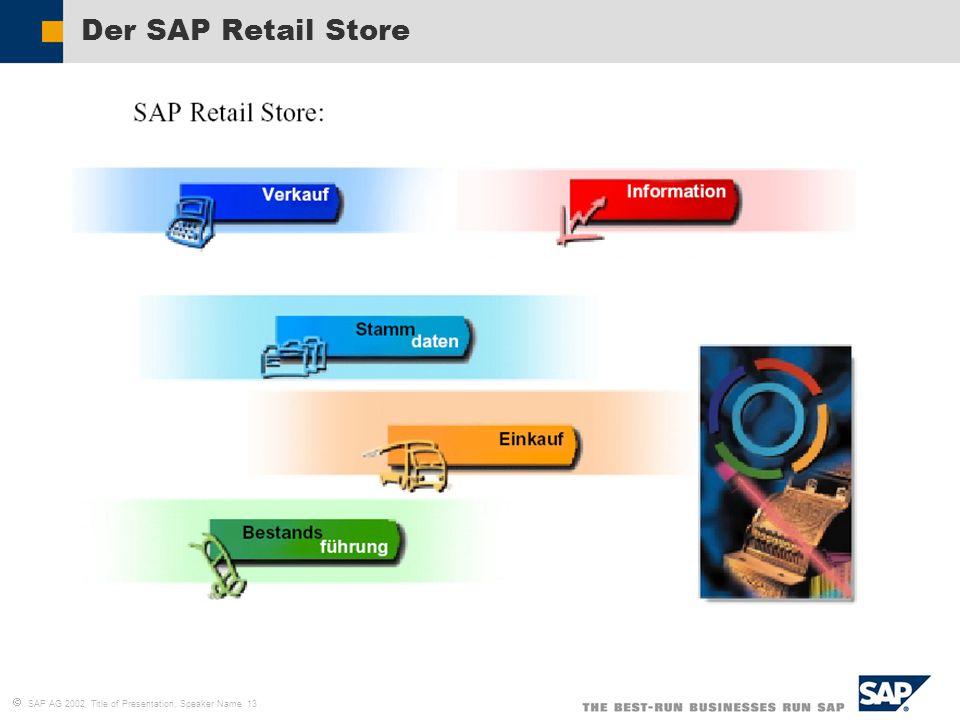 Der SAP Retail Store