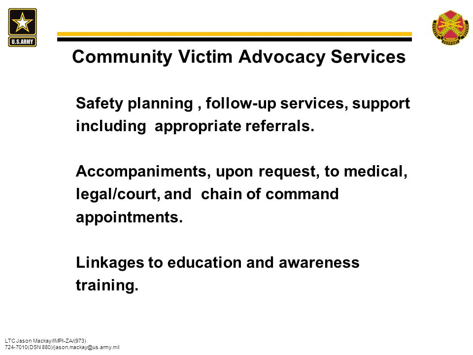 Community Victim Advocacy Services