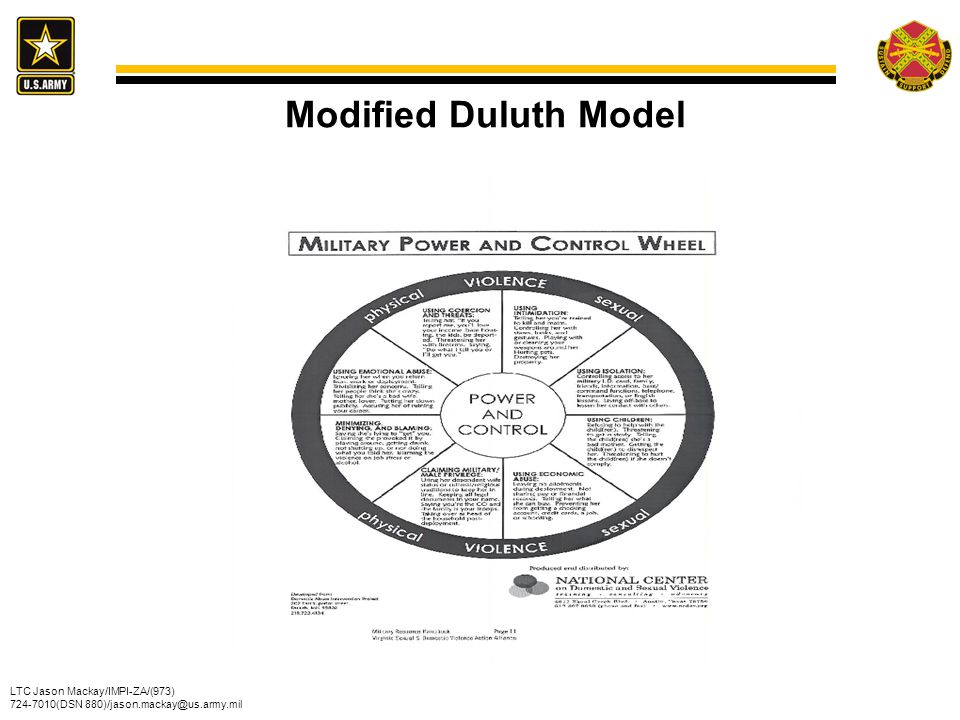 Modified Duluth Model