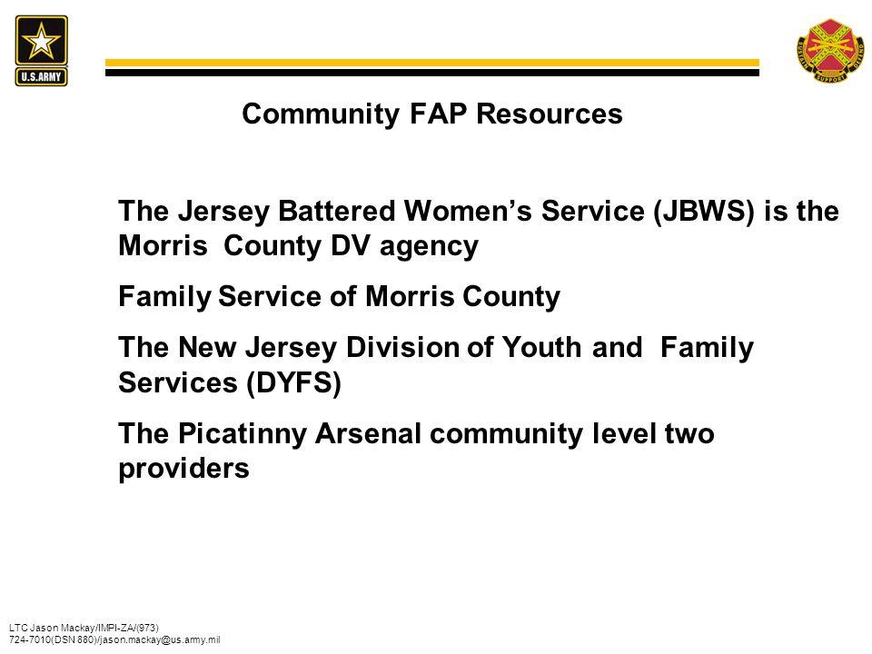 Community FAP Resources