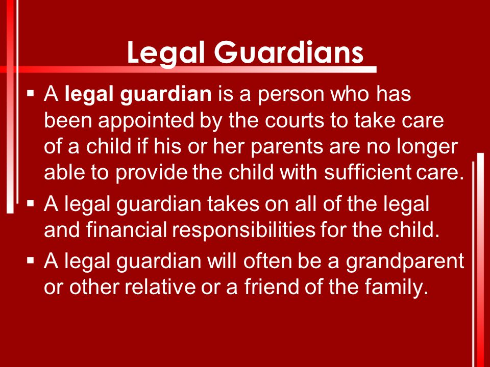 Legal Guardians