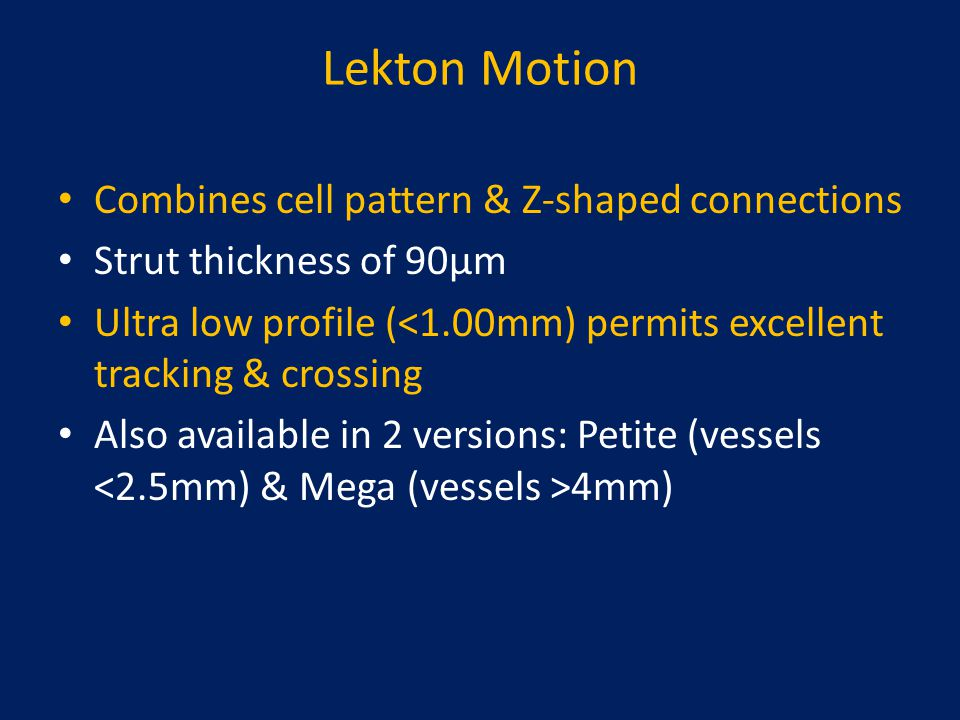 Lekton Motion Combines cell pattern & Z-shaped connections