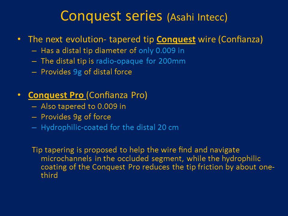 Conquest series (Asahi Intecc)