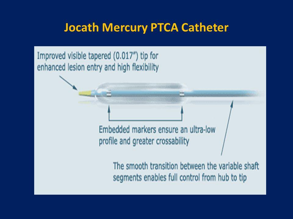 Jocath Mercury PTCA Catheter