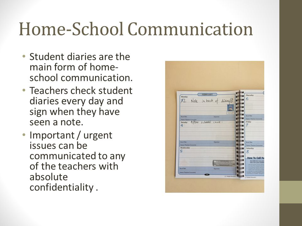 Home-School Communication
