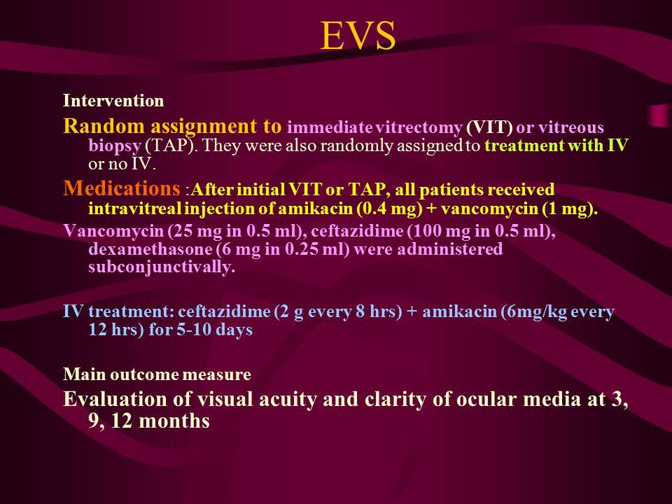EVS Intervention.