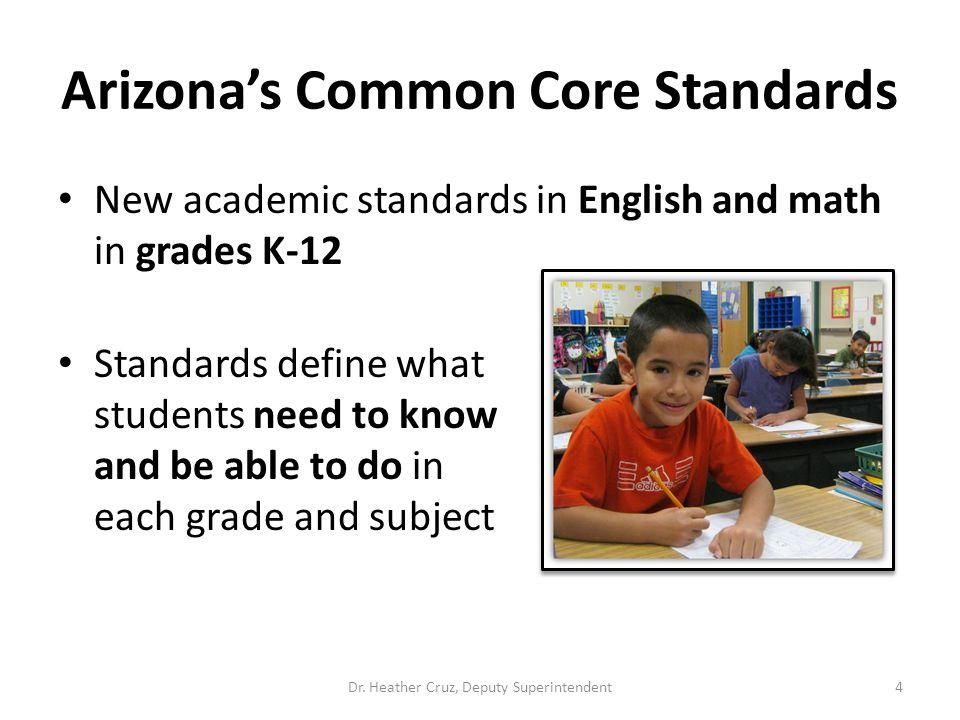 Arizona's Common Core Standards