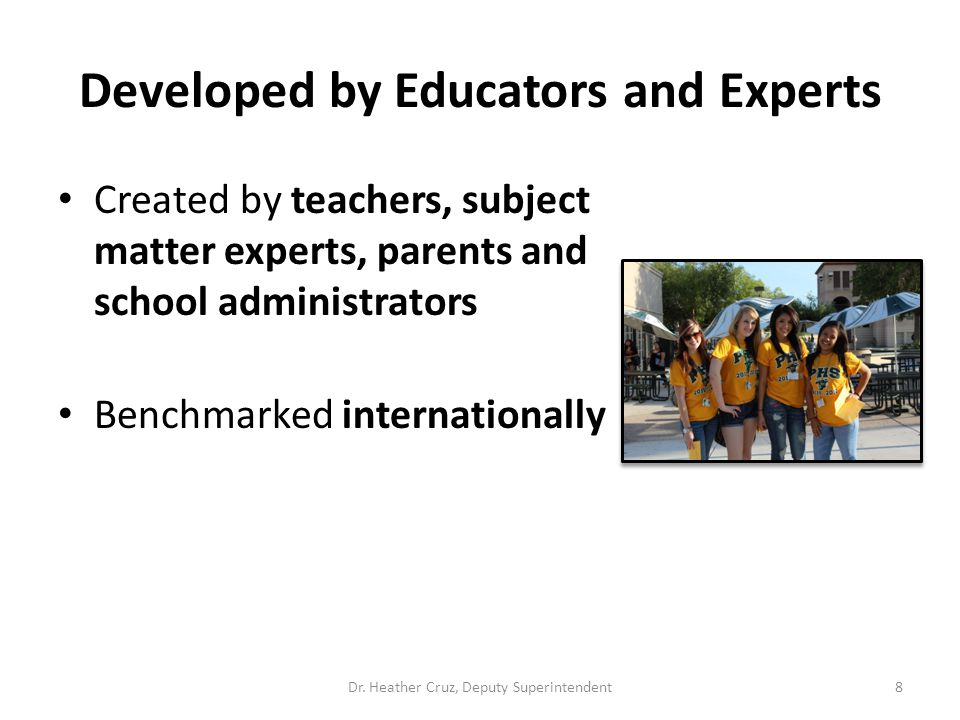 Developed by Educators and Experts