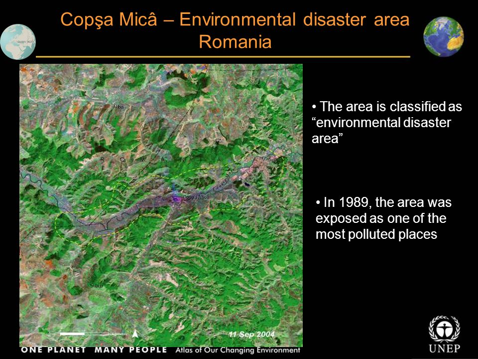 Copşa Micâ – Environmental disaster area Romania