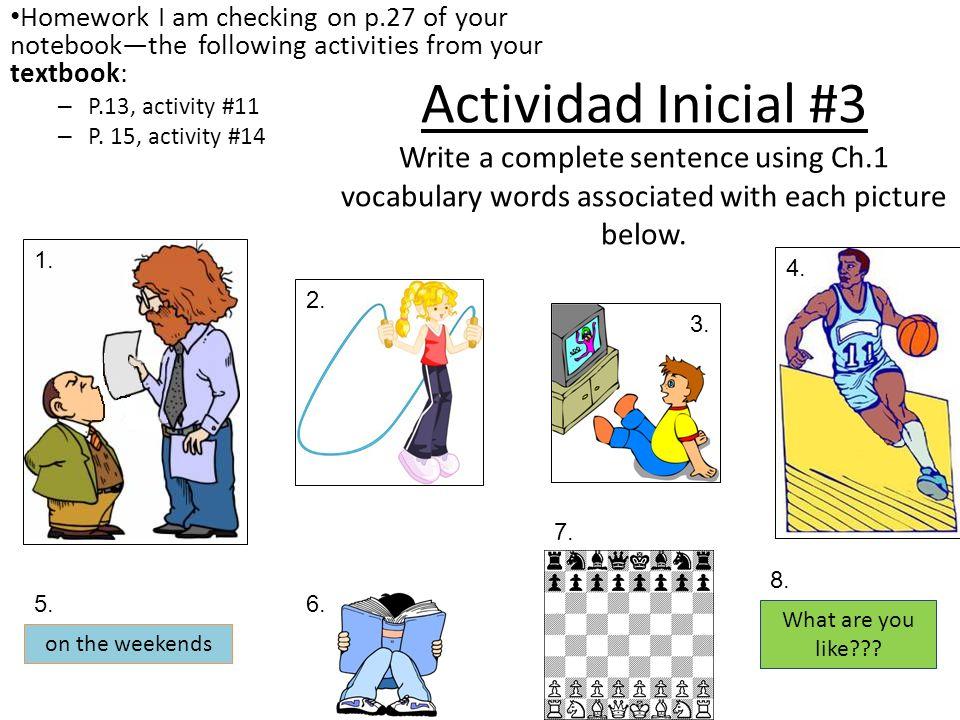 Homework I am checking on p