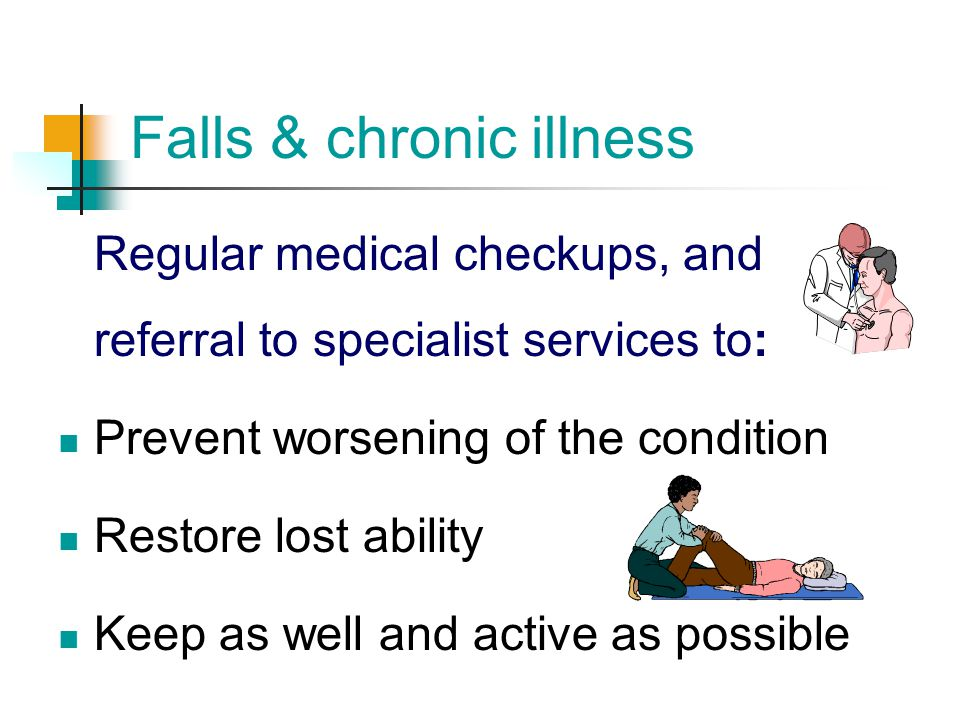 Falls & chronic illness
