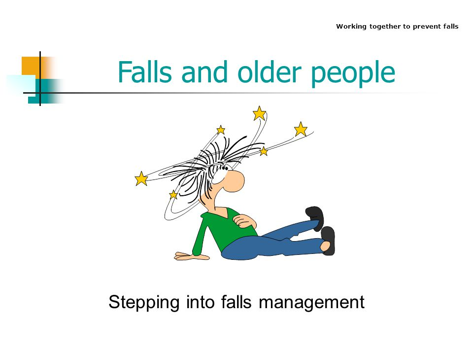 Stepping into falls management